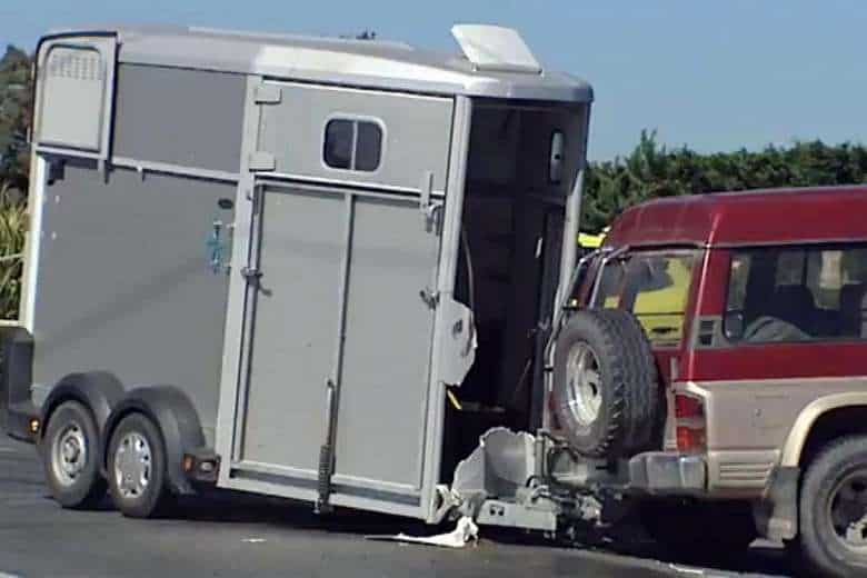 Horse Trailer Accident