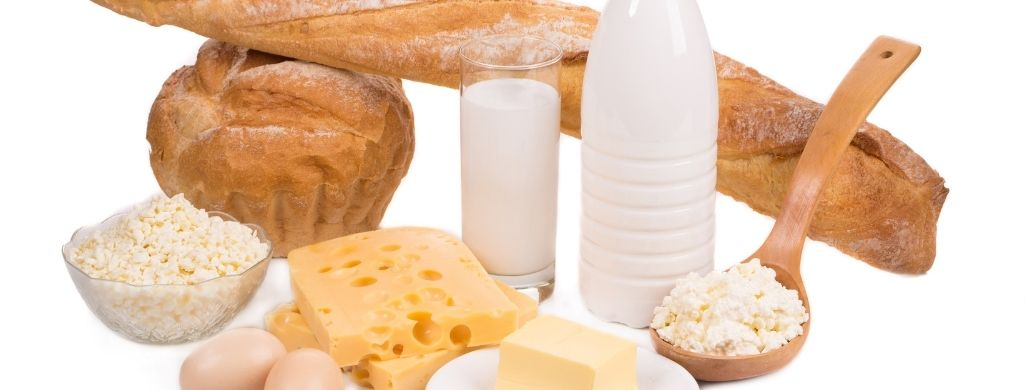 Dairy Products Bread